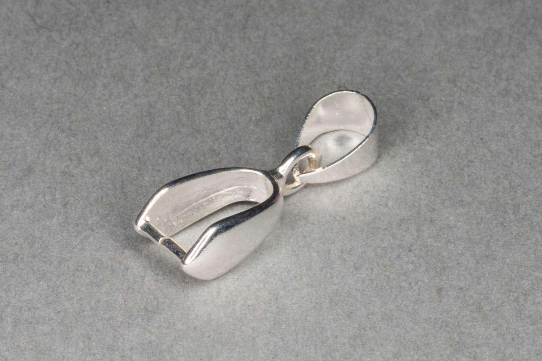 Silver Pinch Bail