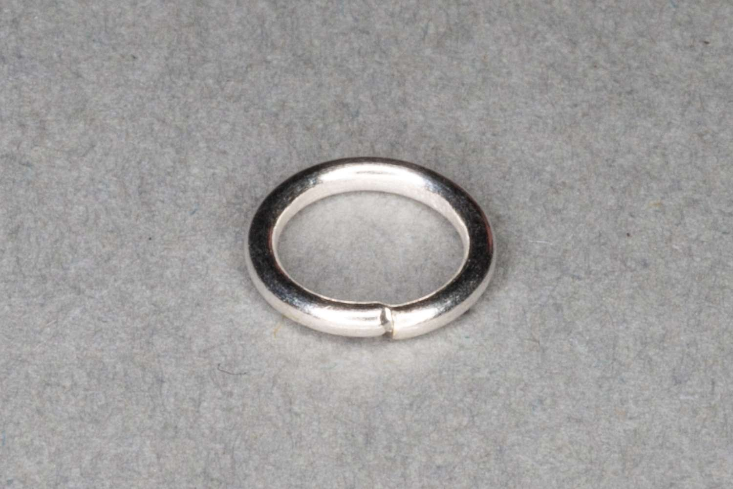 Silver Plated Jump Ring, Pack of 100