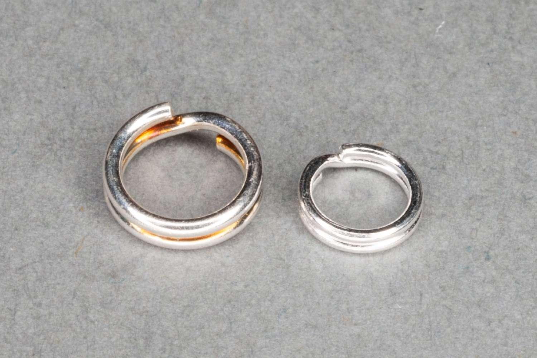 Sterling Silver Split Ring / 5mm