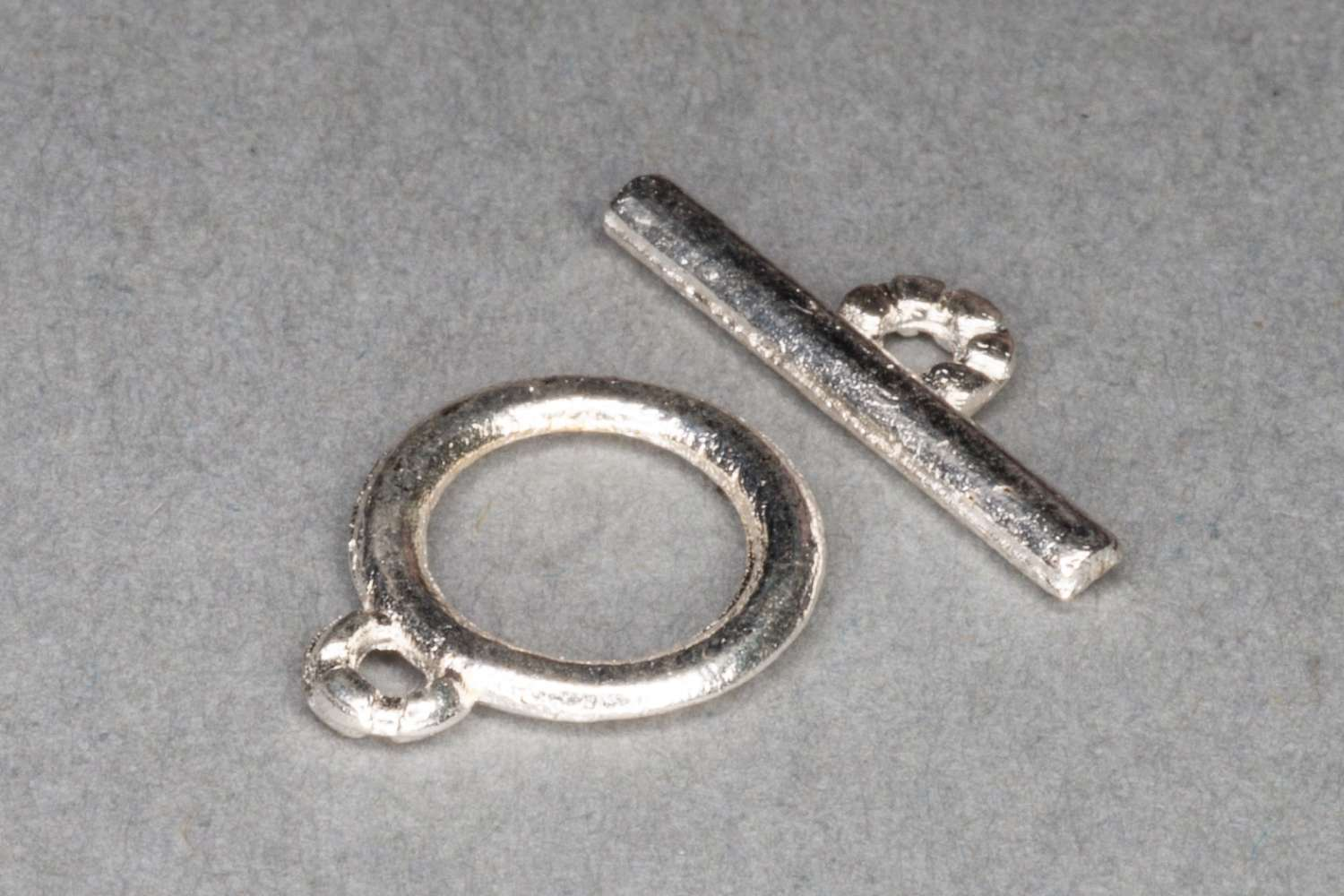 Silver Plated Small T-Bar Clasp