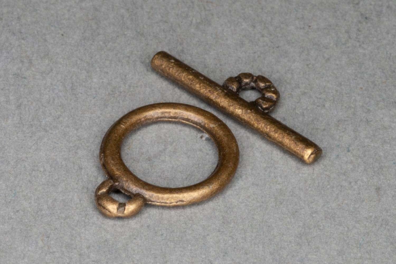 Small Brass T-Bar Clasp