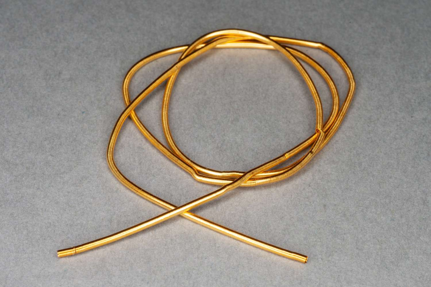Gold Plated Gimp/French Wire 25cm