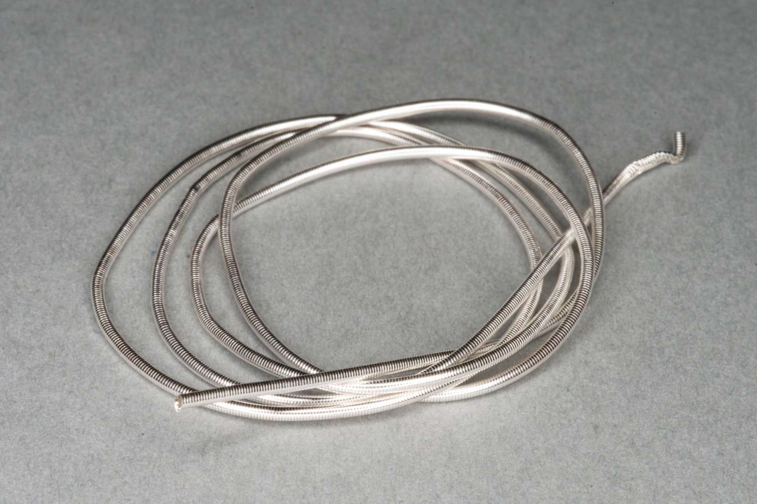 Silver Plated Gimp/French Wire 40cm
