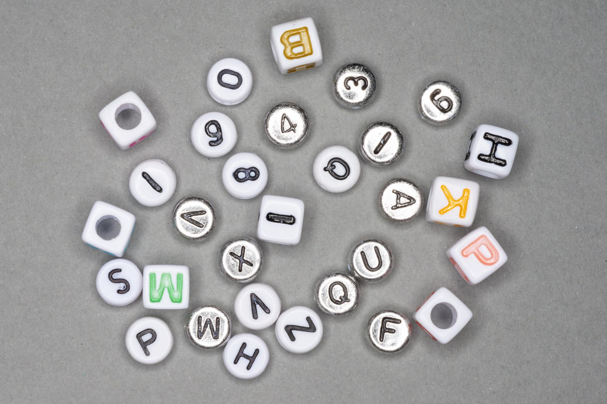 Letters/Numbers