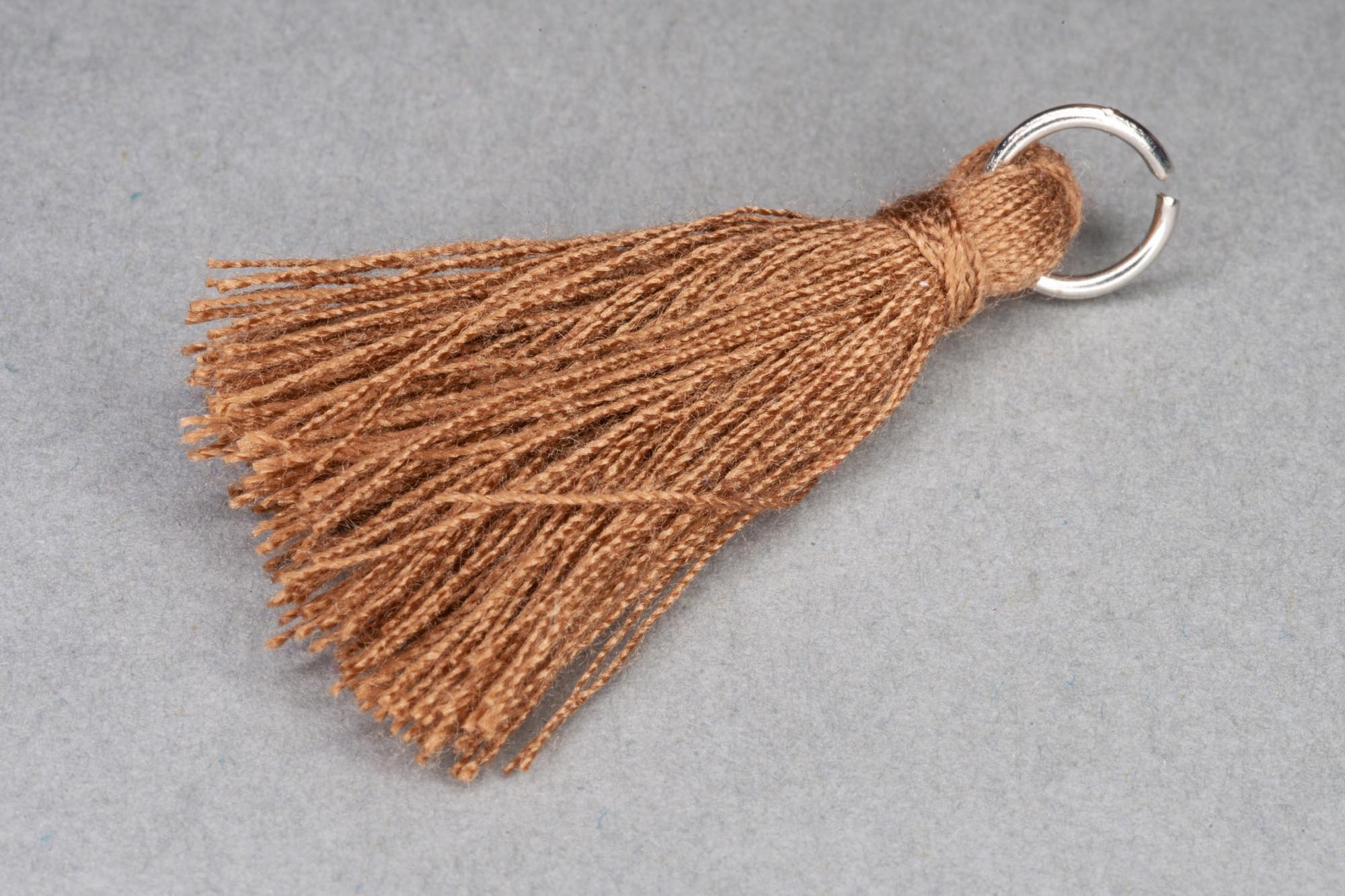 Brown Thread Tassel approx 36mm including hanging loop