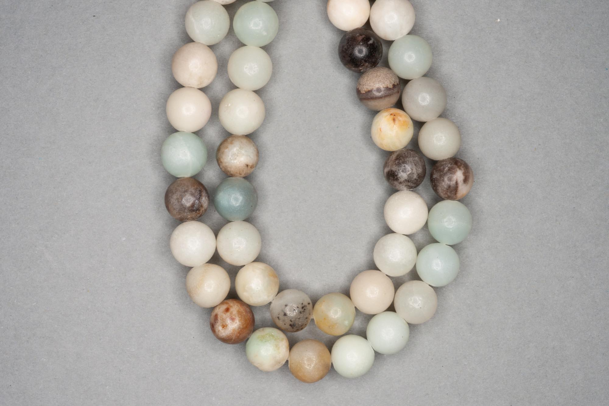 Amazonite 38cm Strand, 8mm Round,