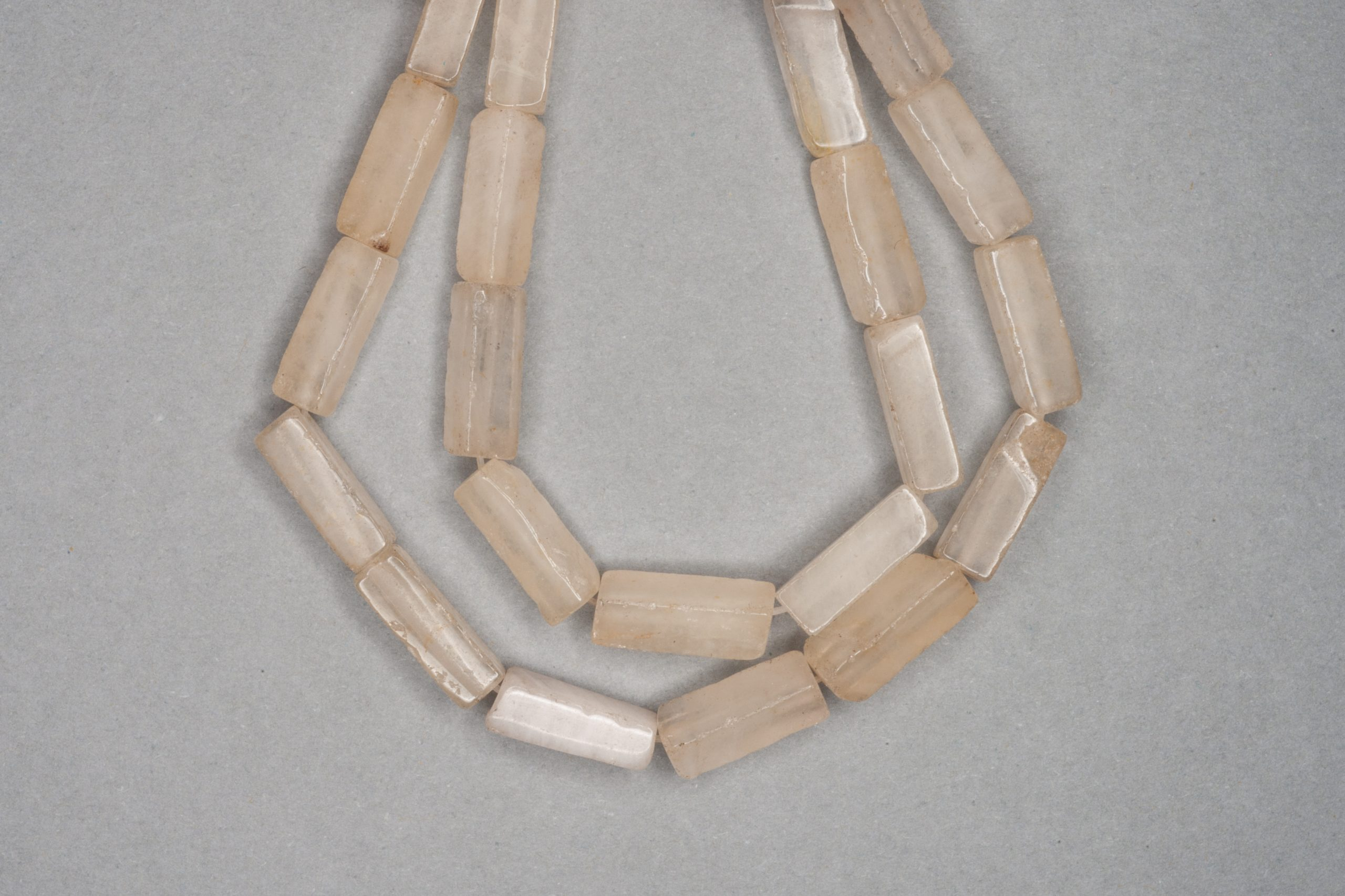 Coffee Quartz 38cm Strand, 13x4mm