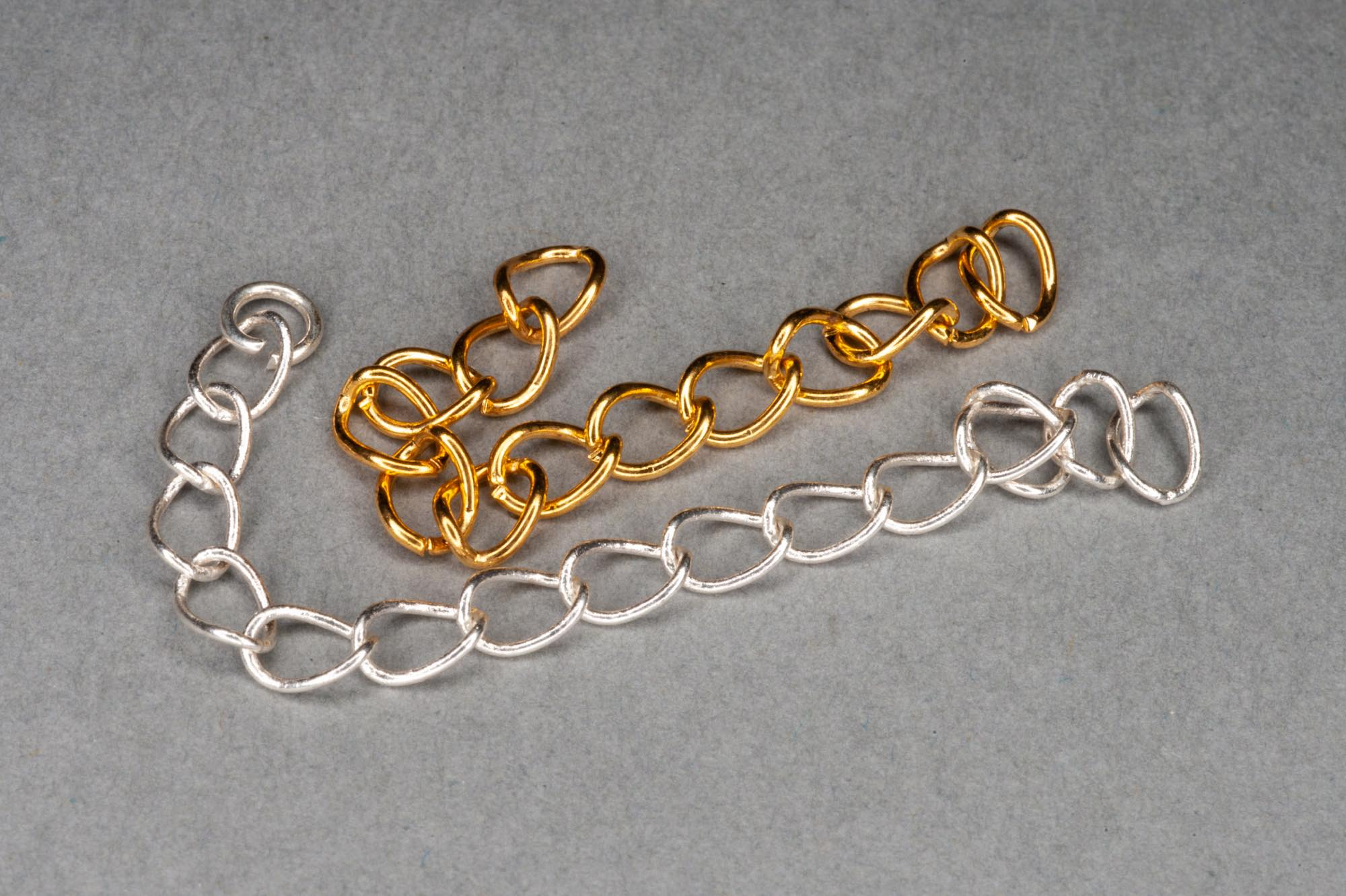 Plated Extension Chain / 3cm