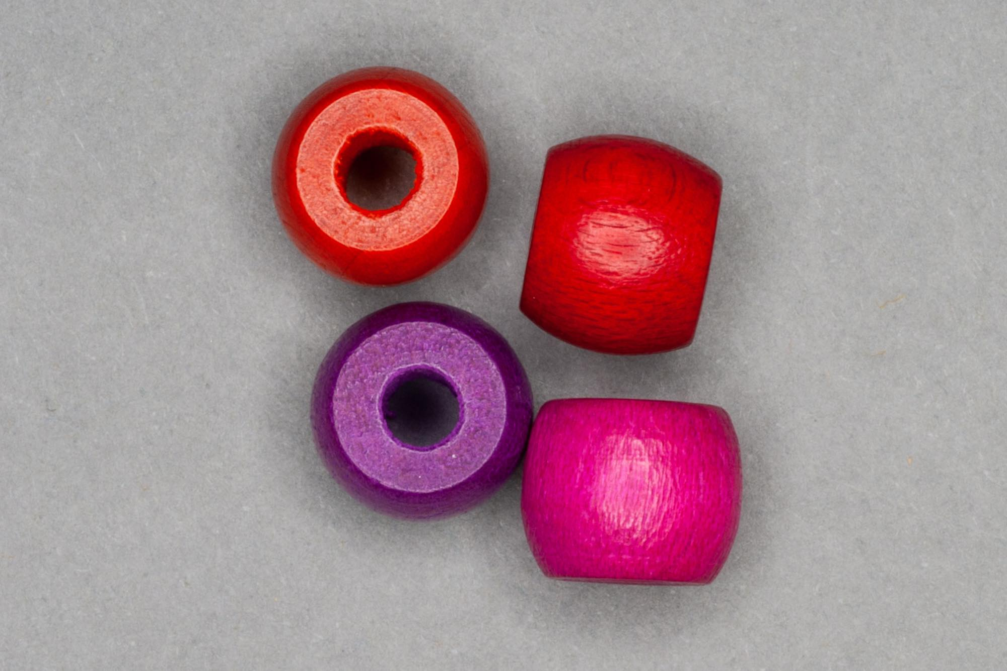 Barrel Wooden Beads 9x8mm, 3mm hole