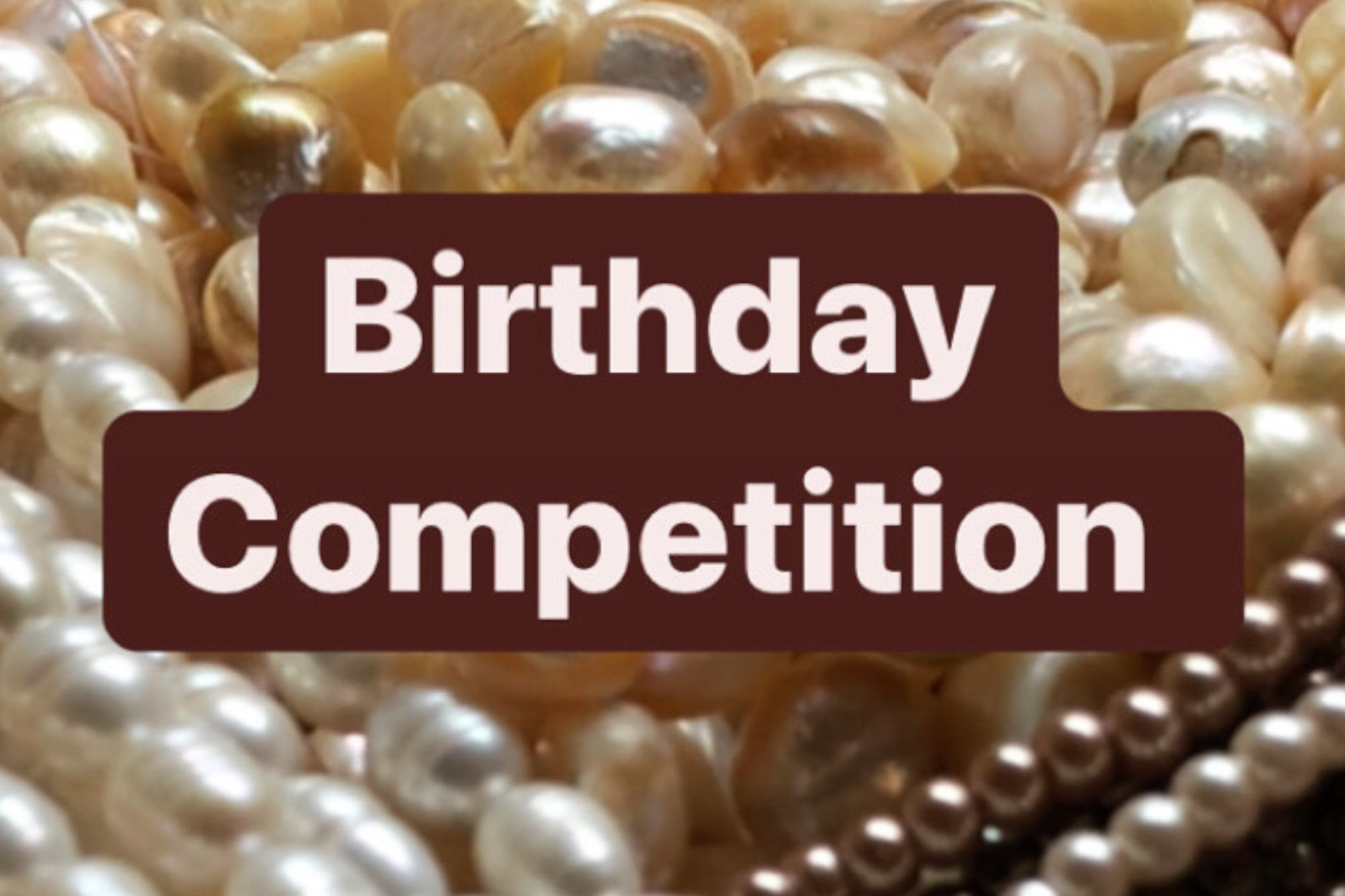 Would you like to win £50 for bead shopping?